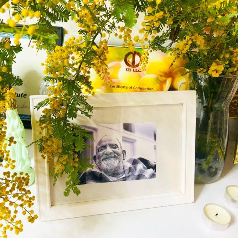 自室に飾られたニームカロリババ
