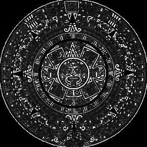 マヤ文明の象徴的マーク